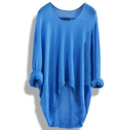 Fashion Hollow Knit Shirt Women Top..