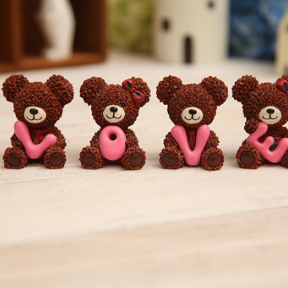 LOVE series of brown bear a special..