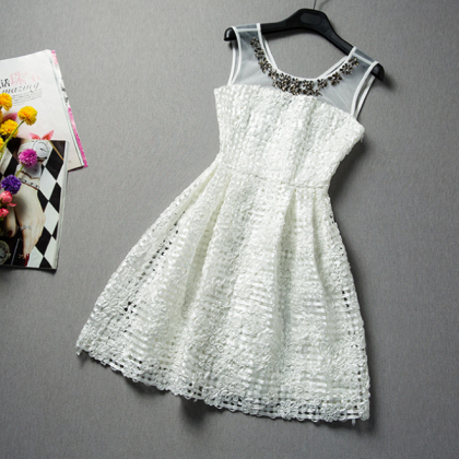 2015 sleeveless lace together culti..