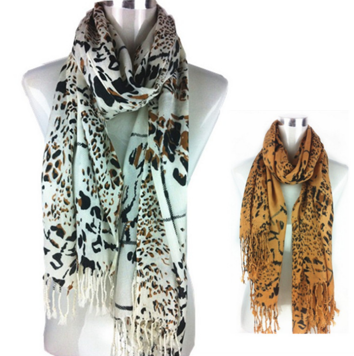 2015 new imitation cashmere twill scarf thickened group of shoulder leopard Plaid scarves