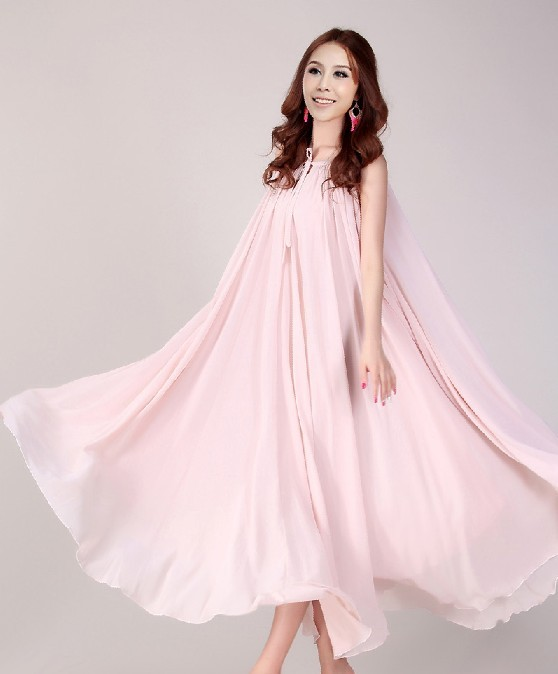 Nude Pink Formal Dress