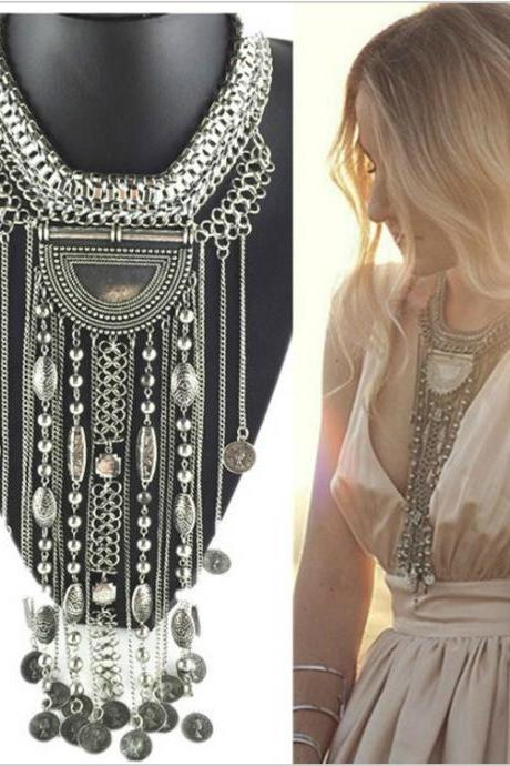 Gorgeous Bohemian Statement Necklace