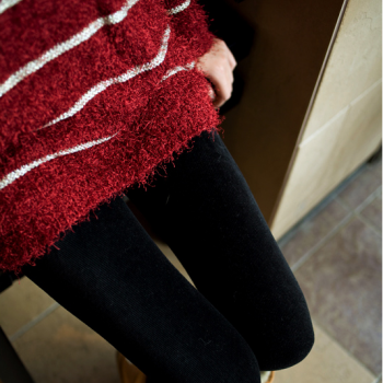 The fall of new high-quality color corduroy corduroy women significantly thinner nine Leggings