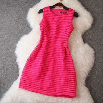 Fashion Slim Sleeveless Dress