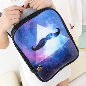 Handbag Shoulder Bag Handbag beard wind Institute student bag backpack star package